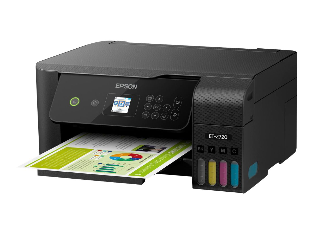 Epson EcoTank ET-2720 All-In-One Supertank Printer - Black