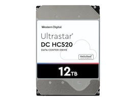 HGST 12TB UltraStar He12 SATA 6Gb s 512e SE 3.5 Helium Platform Enterprise Hard Drive, 0F30146, 33942029, Hard Drives - Internal