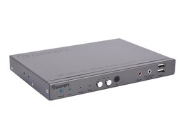 Gefen 4K Ultra HD HDMI KVM over IP Receiver, EXT-UHDKA-LANS-RX, 35180574, Video Extenders & Splitters