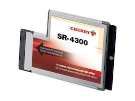 Cherry Express Interface High Performance PCSC, SR4300, 9422007, PC Card/Flash Memory Readers