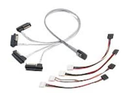 Adaptec Internal MSAS x4 To SAS 4x1 Cable, 1m, 2232000-R, 6954622, Cables