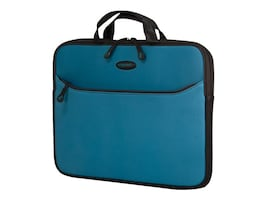 Mobile Edge Eva Slipsuit Sleeve for Macbook 13, Teal, MESSM9-13, 31889279, Carrying Cases - Notebook