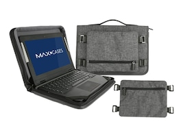 Max Cases STYLISH AND SLIM, THIS ALWAYS-ON CASE ALLOWS YOU TO WORK DIRECTLY FROM, MC-WNS-14-GRY, 36007861, Carrying Cases - Other