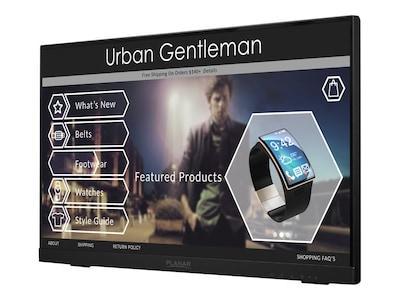 Planar 21.5 PCT2235 Full HD LED-LCD Touchscreen Monitor, Black, 997-8286-00, 31855749, Monitors - Touchscreen