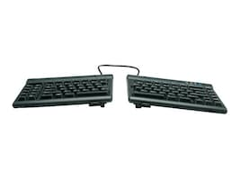 Kinesis Freestyle2 Keyboard for PC and V3 Accessory US Layout, KB830PB-US, 14281528, Keyboards & Keypads