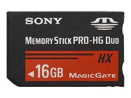 Sony 16GB Memory Stick Pro-HG Duo HX, MSHX16B/MN, 15409280, Memory - Flash