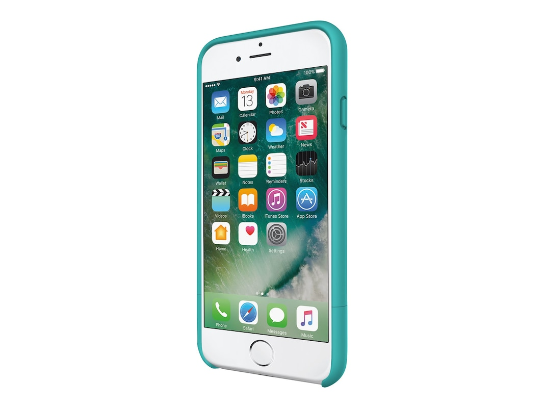 reputable site 189bc 25579 Incipio Stashback Dockable Credit Card Case for iPhone 7, Turquoise