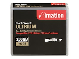 Imation 100 200GB 609m LTO-1 Ultrium Tape Cartridge, 41089, 242569, Tape Drive Cartridges & Accessories
