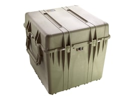 Pelican 0370 24 Cube Case w  Foam 24x24x24 Pick-N-Pluck Foam, Desert Tan, 0370-000-190, 30575850, Carrying Cases - Other