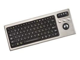 iKEY Keyboard w  Integrated Trackball, DBL-810-TB-USB, 33109088, Keyboards & Keypads