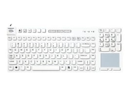 Man & Machine Really Cool Touch Sealed Waterproof Keyboard, Integrated Touchpad, RCT/MAG/BLK/G2, 12769301, Keyboards & Keypads