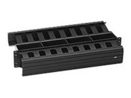 Leviton Horizontal Slotted Duct, 2RU, 492RU-HFO, 7538410, Premise Wiring Equipment