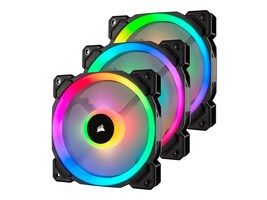 Corsair LL120 RGB Fans (3-pack), CO-9050072-WW, 35533499, Cooling Systems/Fans