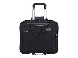 Eco Style Tech Exec Rolling Case for 16 Notebook + iPad Tablet, Black, ETEX-RC15, 18170681, Carrying Cases - Notebook