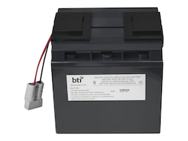 BTI Replacement Battery, RBC7 for APC SU700XL, SU1000XL, BP1400, SU1400 Models, RBC7-SLA7-BTI, 7197707, Batteries - UPS