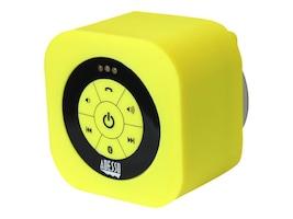 Adesso Waterproof Bluetooth Speaker - Yellow, XTREAMS1Y, 17456063, Speakers - Audio
