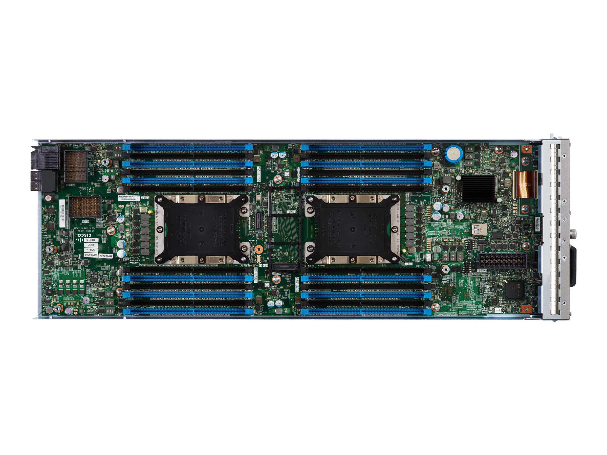 Cisco UCS B200 M5 Blade No CPU No RAM No HDDs 24xDIMM slots 2x2 5