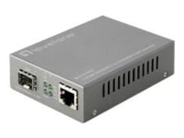 CP Technologies Level One 10 100 1000 BaseT To SFP Smart Converter, GVS-3800, 28177481, Network Transceivers