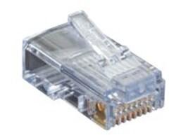 Black Box CAT5E EZ-RJ45 MODULAR PLUGS, 25-PACK, C5EEZUP-25PAK, 32990424, Cable Accessories