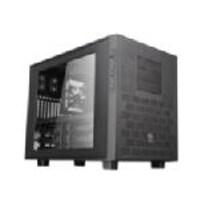 Scratch & Dent Thermaltake Chassis, Core X9 Cube E-ATX 7x3.5 Bays 3x5.25 Bays 8xSlots Window No PSU, Black, CA-1D8-00F1WN-00, 35110285, Cases - Systems/Servers