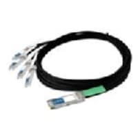 Juniper Networks 40Gbase CR4 QSFP+ (F) Juniper Direct Attach Passive Copper Cable, 1m, QFX-QSFP-DAC-1M, 16631261, Cables