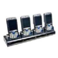 Intermec Quad Dock, Ethernet, CK70 71, US Power Cord, DX4A1222210, 13127633, Portable Data Collector Accessories
