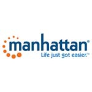 Manhattan 1080p USB Webcam Full HD, 462006, 41142160, WebCams & Accessories